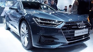 THE ALL NEW Audi A7 Sportback 2018 In detail review walkaround Interior Exterior