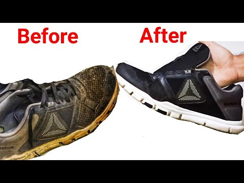 How to Clean Every Type of Mesh Shoes👟 and Make Em Awesome Again
