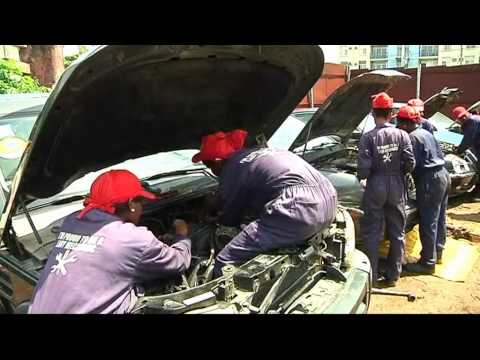 Nigeria Lady Mechanics