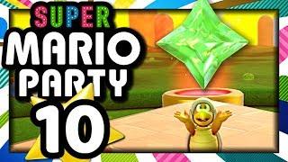 SUPER MARIO PARTY EPISODE 10 MODE RAFTING DUO : ON DÉBLOQUE LA GEMME !  (NINTENDO SWITCH)
