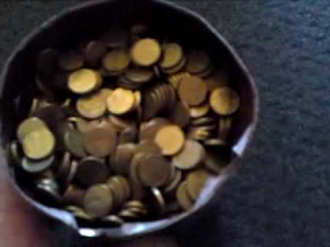 opening the money box