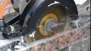 GPW-227 Wet Air Circular Saw for Granite Stone