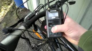 Bicycle HAM Radio Setup