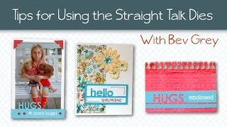 Technique Tuesday Project Ideas and Tips for Using the Straight Talk DIY Steel Dies Mp3