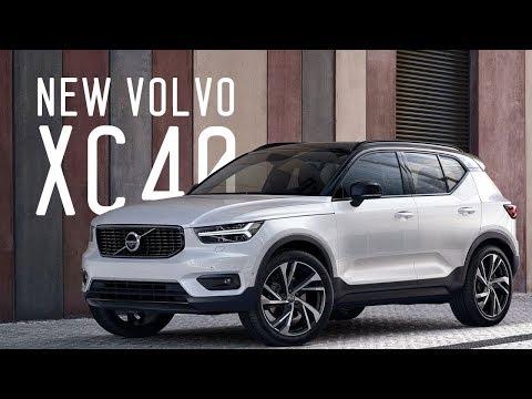Кроссовер VOLVO XC40 2018 - Мировая премьера
