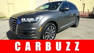 2017 Audi Q7 UNBOXING Review - BMW Doesn't Even Build A Competitor (Yet)