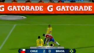 Video Gol Pertandingan Chile vs Brazil