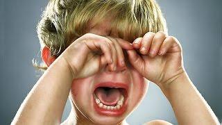 видео Детская истерика: как с ней бороться?