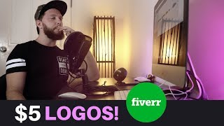 I Hired $5 Logo Designers - This Is What I Got (LOGO ANALYSIS)