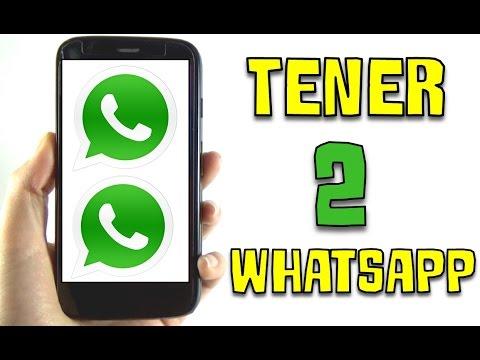 Cómo tener 2 WhatsApp DIFERENTES en un mismo teléfono. (Android)