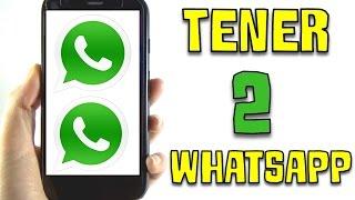 Cómo tener 2 WhatsApp DIFERENTES en un mismo teléfono. (Android) thumbnail