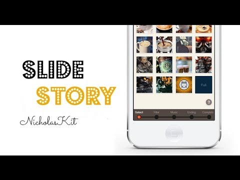 SlideStory - The Memorial SlideShow Made With 32 Seconds [Full iOS App Review]