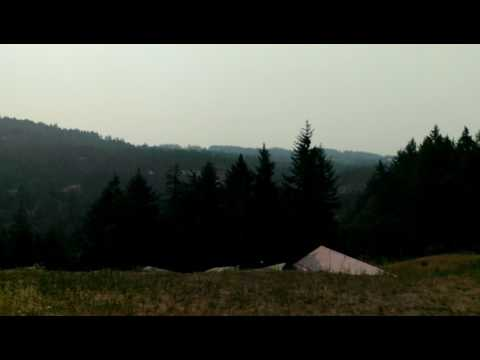 Smoke in Victoria from Interior BC Fires 2017 Aug 2nd