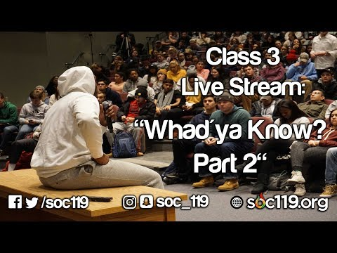 Whad'ya Know, Part 2 - Full Class Lecture thumbnail
