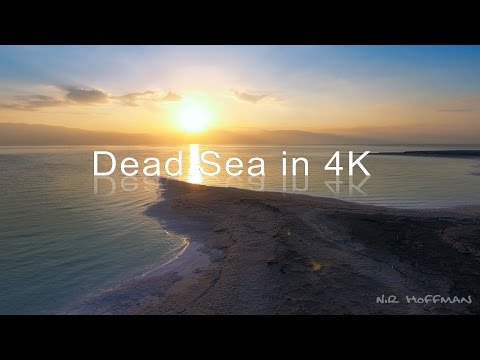 Dead Sea in 4k Dji phantom 4