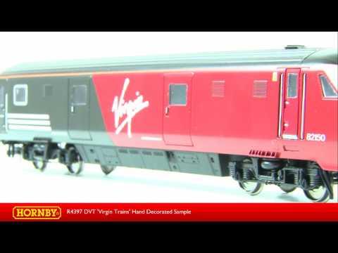 R4397 DVT Virgin Trains - Hand Decorated Sample