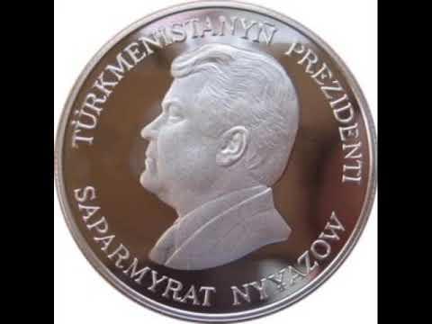 Coins of Turkmenistan - Turkmen Manat commemorative coins