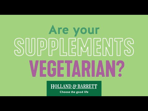 Vegetarian Supplements | Holland & Barrett