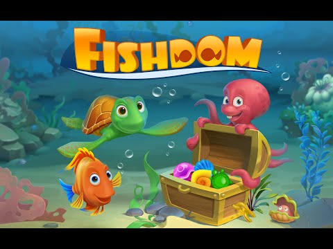 Мультик - игра на андроид Fishdom: Deep Dive. Обзор игры Fishdom: Deep Dive для детей.