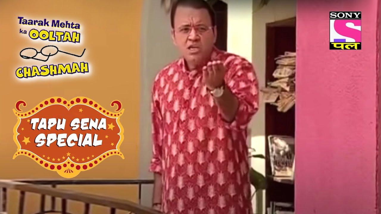 Tapu और Sonu निकले एक साथ तो Bhide को हुई Problem | तारक मेहता का उल्टा चश्मा | Tapu Sena Special