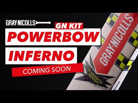 Brand New Cricket Bat: Powerbow Inferno