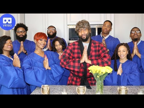 The Black Thanksgiving Anthem!  🦃😂 (VR180 Experience) | Random Structure TV