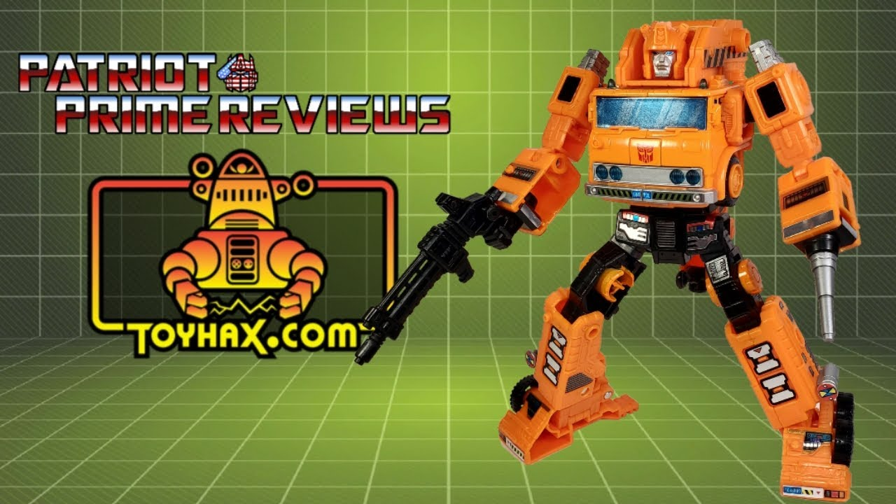 Toyhax Decal Set Review for Earthrise Grapple By Patriot Prime Reviews