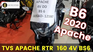 2020 TVS Apache RTR 160 4V BS6 Detailed Review Hindi