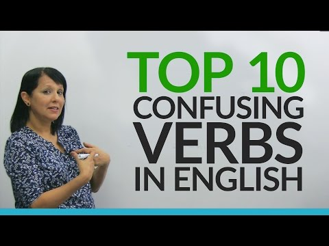 Top 10 Confusing English Verbs for Beginners
