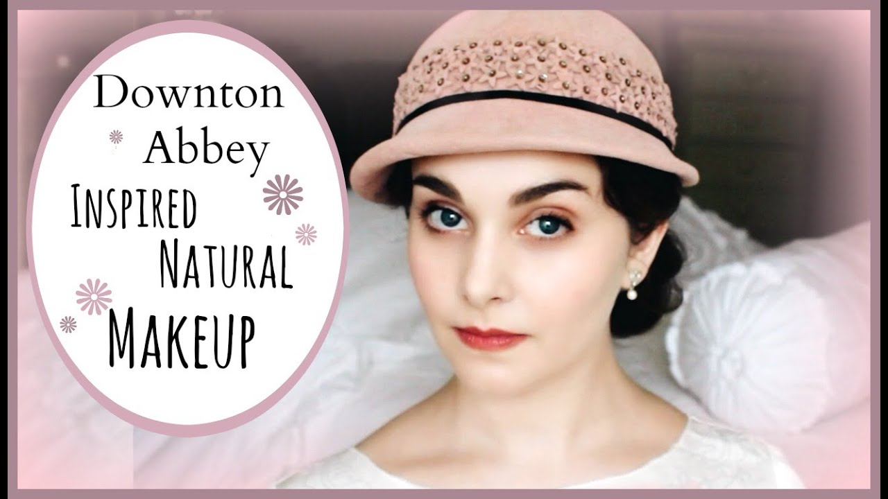 Downton Abbey Inspired Natural Makeup Look
