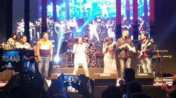 Aastha Gill Live event in indore (Nagin song)