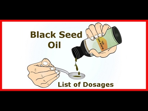 Black seed oil list of dosages