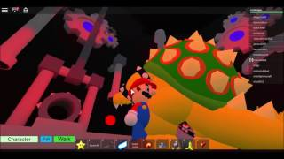 The First Yoshi to step on the Stars: Super Mario 3D Roblox