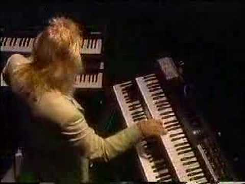 Rick Wakeman's awesome piano solo
