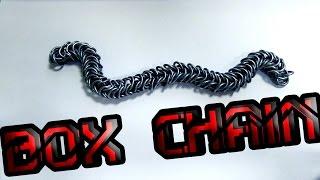 Плетение из колец. Как сделать цепочку? Урок 1. Коробка