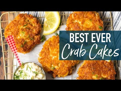 Best Crab Cakes Recipe (Baltimore Crab Cakes)