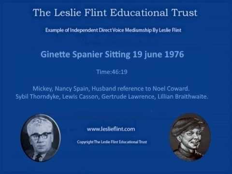 Ginette Spanier Sitting 19 june 1976