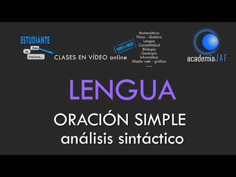 oraciÓn-simple.-análisis-sintáctico-en-10-pasos---lengua-española-sintaxis---academia-jaf