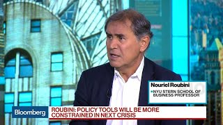 Roubini Warns of 'Perfect Storm' for U.S. Economy in 2020