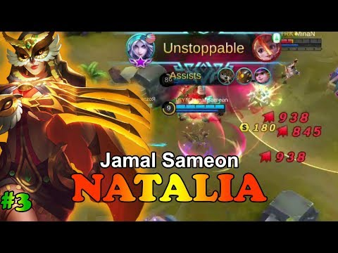 Natalia is Unstoppable [Jamal Sameon] Fredo Week #3 Mobile Legends Natalia Gameplay