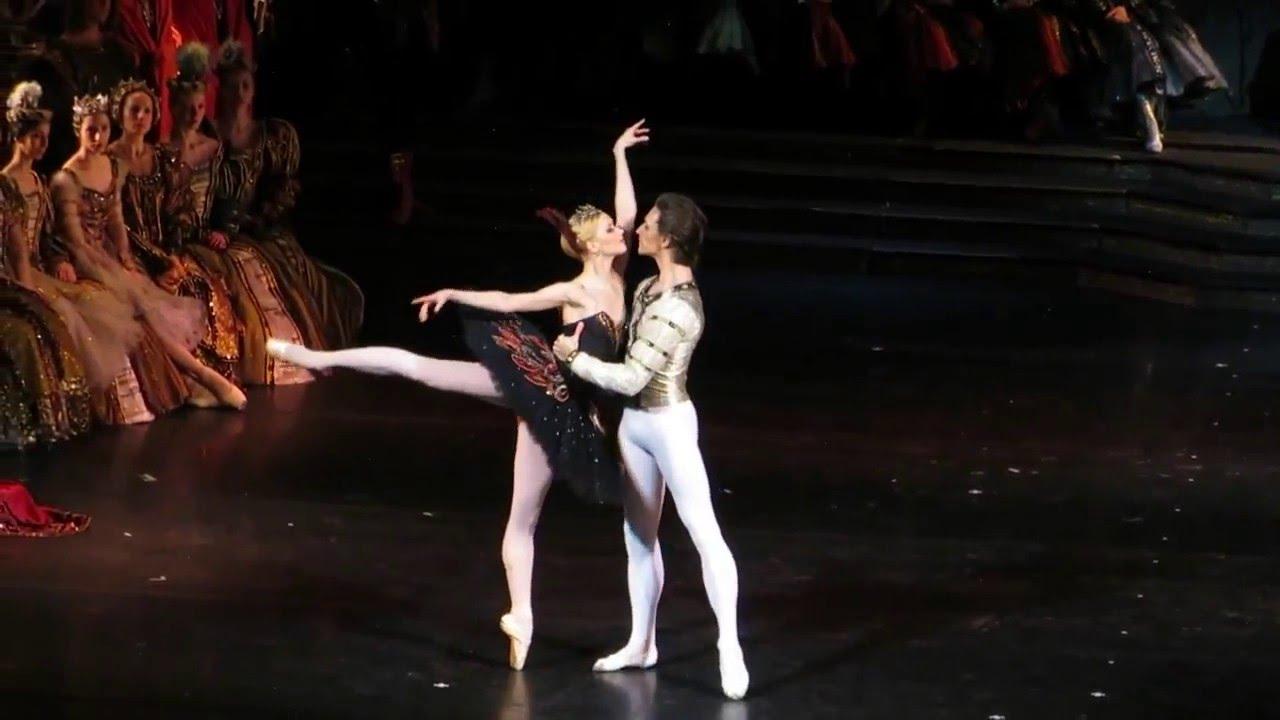 """N. Somova, S.Polunin """"Swan Lake"""" (pas de deux Act 3)"""