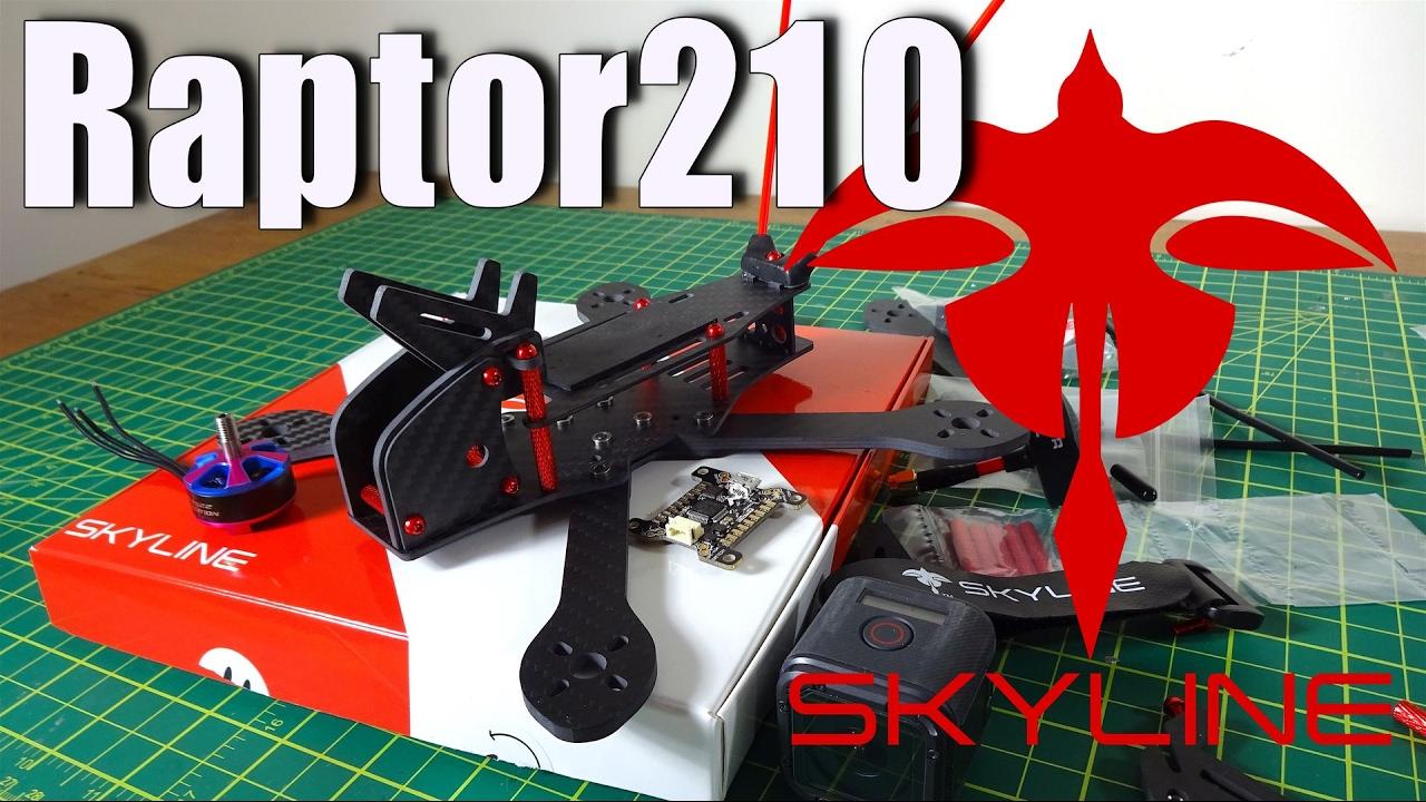 Skyline Innovations Raptor 210 : Frame Review - YouTube
