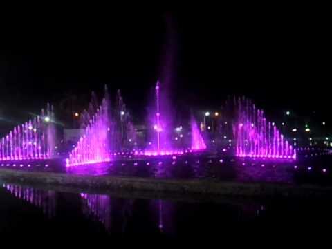 Musical fountain Kota Kinabalu