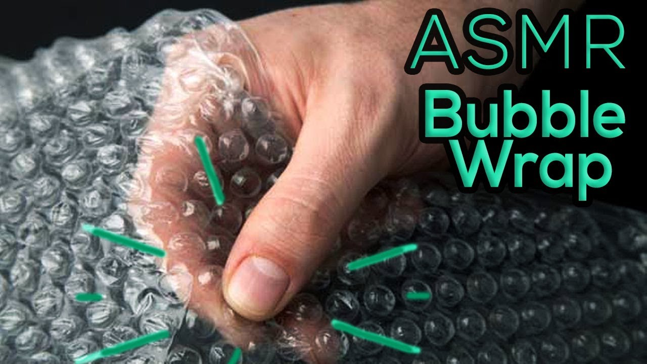 ASMR Bubble Wrap *Popping bubbles* Relaxing Sounds