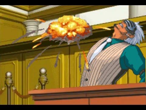Phoenix Wright Ace Attorney T T Godot Press Breakdown Youtube