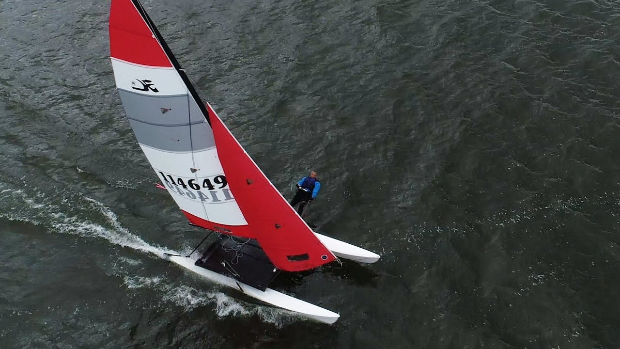 Mesmerizing Hobie Cat sailboats turn 50, race across Oneida Lake
