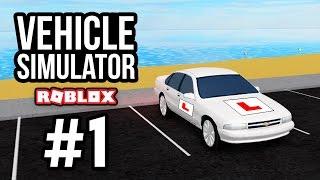 FAILING MY DRIVING TEST - Roblox Vehicle Simulator #1
