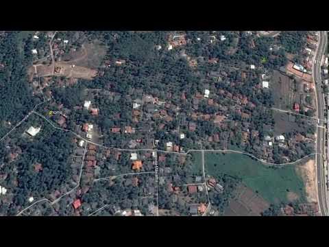 Imbulgoda (Sri Lanka) Area - Time Lapse 2003-2017