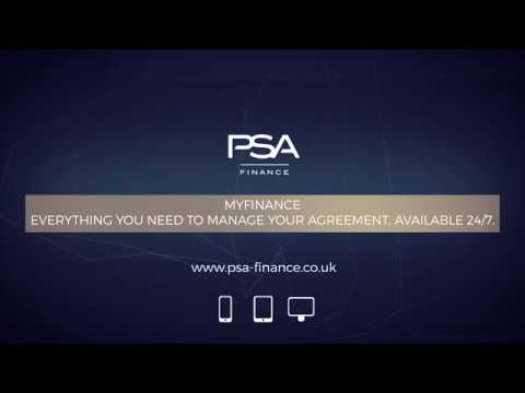 My Finance Manage Your Psa Finance Agreement Online Youtube