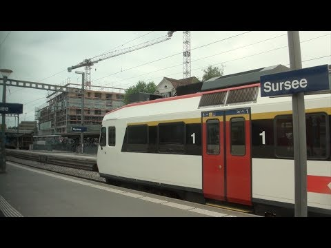 SBB Train Ride: IR 2522 from Lucerne to Bern, Switzerland